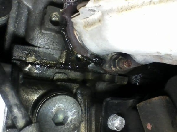 Fixing an Oil Leak