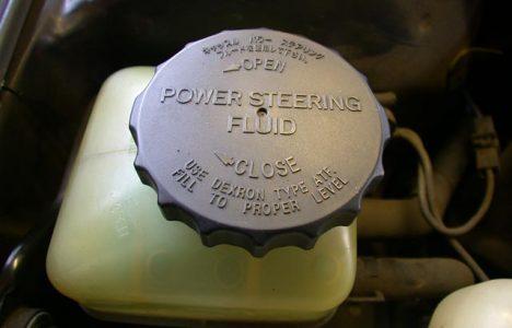 Power Steering Fluid Leak