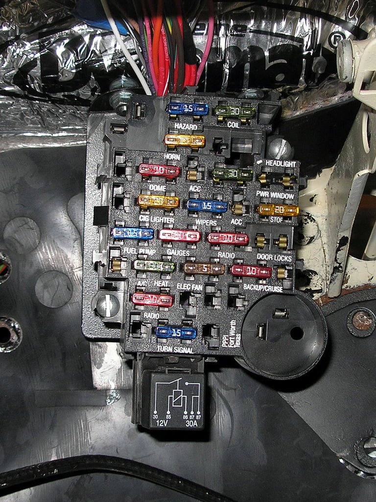 fuse box diagnosing electrical problems bluedevil products Custom Automotive Wiring Harness Kits at crackthecode.co