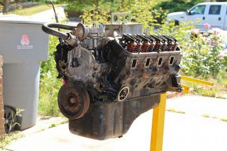cracked engine block