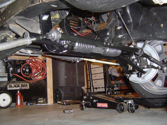 Steering Rack on 1998 Dodge Dakota 4 Cylinder