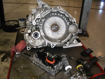 how to replace a transmission