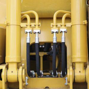 hydraulic leak