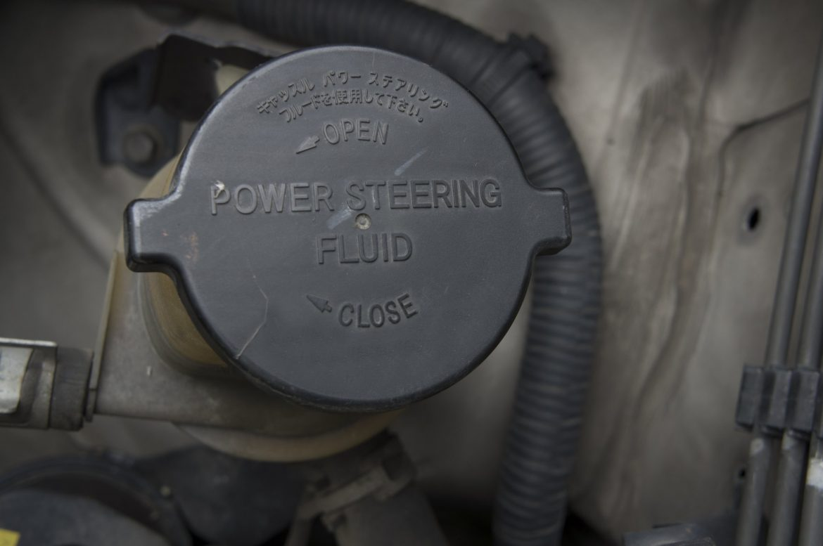 Power Steering Fluid Change Bluedevil Products