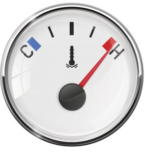 car engine temperature