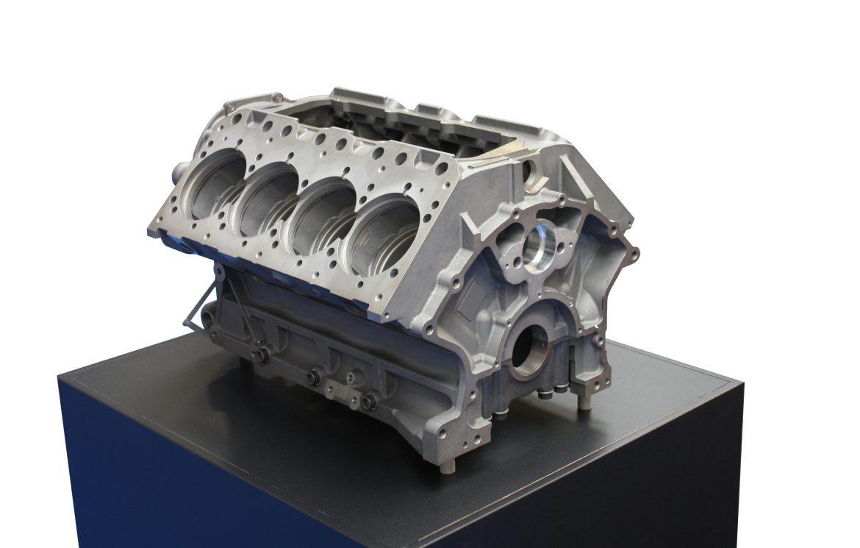 Cracked Block X on Engine Freeze Plug Installation
