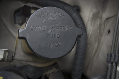 changing power steering fluid