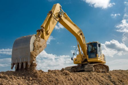 dependable hydraulics, excavator