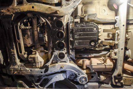 transmission pan, changing a transmission pan gasket