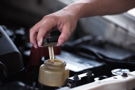 power steering reservoir, power steering making noise