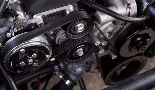 crankshaft pulley leak