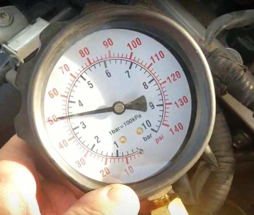 fuel pressure, fuel pressure guage