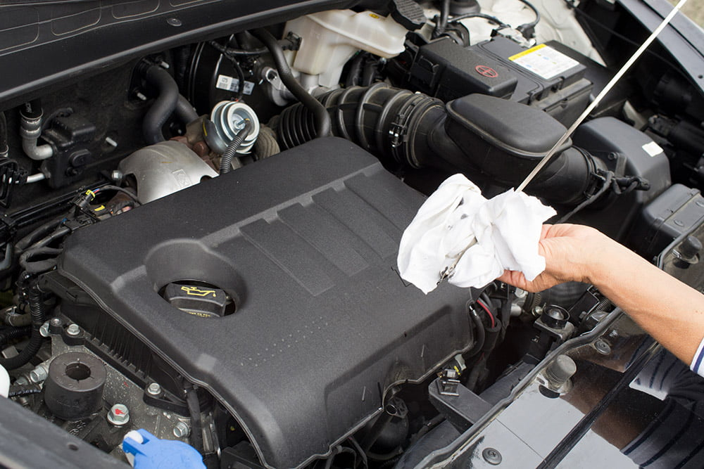 Learn how to fix an oil leak in your car from the car experts at BlueDevil Products.