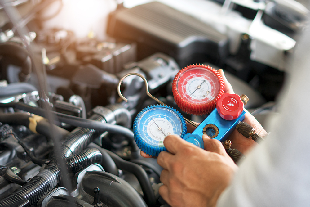Learn how to fix a car air conditioning leak from the auto experts at BlueDevil Products.